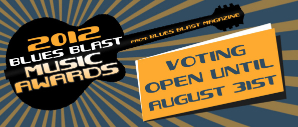 Blues Blast Vote Logo